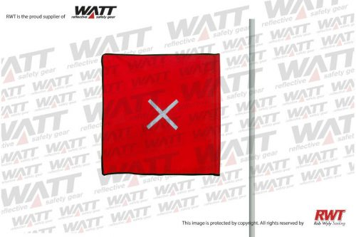 Rob Wyly Trading Quality Reflective Clothing RWT Shop Online FLPRSX-Red-Flag-Complete