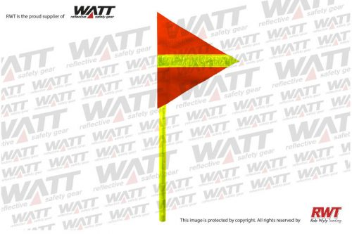Rob Wyly Trading Quality Reflective Clothing RWT Shop Online FLPVCRDF-Flag-PVC-Rudolph
