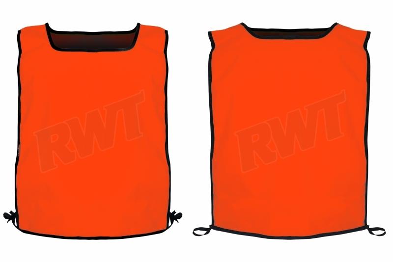 BIB maxi orange poly no reflective black binding RWTSA shop online