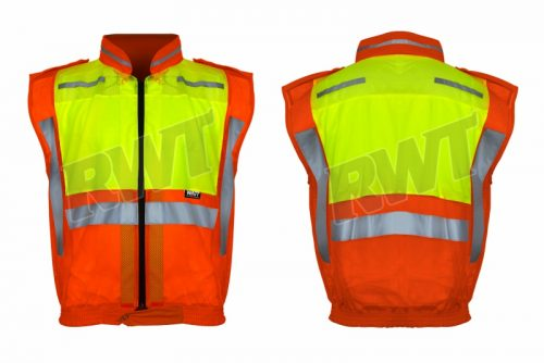 COLLAR JACKET – orange lime sleeveless cjcp RWTSA shop online