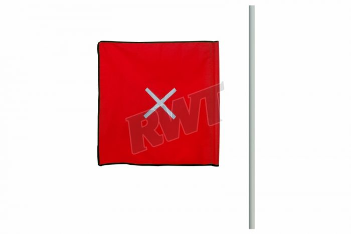 FLAG – red complete with pole RWT Sa Shop online