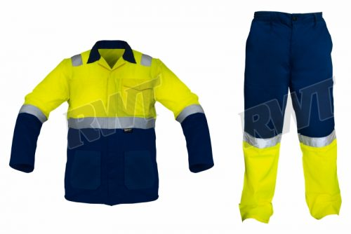 OVERALLS – two piece lime and blue RWTSA shop online