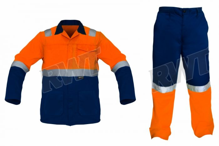 OVERALLS – two piece orange and blue RWTSA shop online