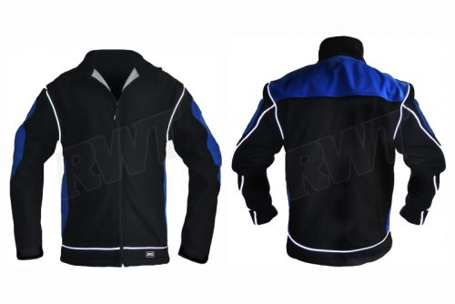 SOFT SHELL JACKET – black & blue RWTSA shop online