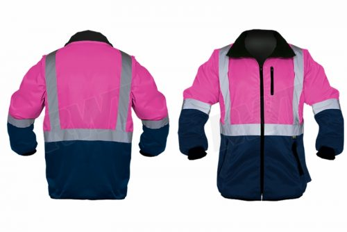 STANDARD JACKET – two tone pink and navy RWTSA shop online