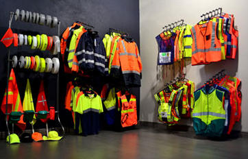 showrooms and stores RWT Rob Wyly Trading Quality Reflective Clothing