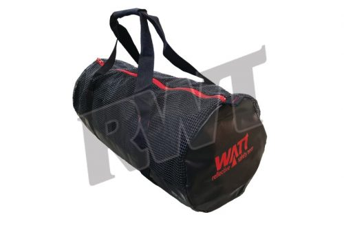 travel sports bag red