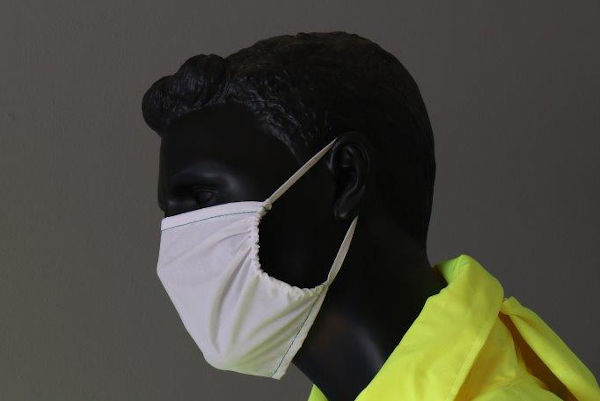 MASK01 single layer maske white